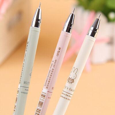 4pcs Cute Gel ink Rollerball Pen Writing Instruments Black Ink 0.38mm