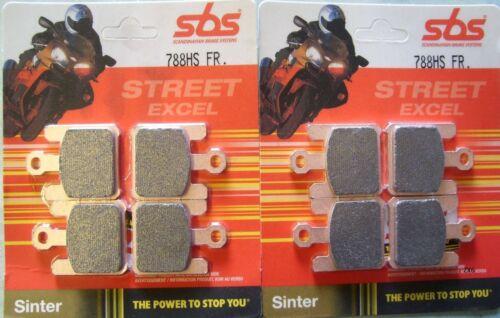 SBS Front Brake Pads Street Performance Sinter 788HS
