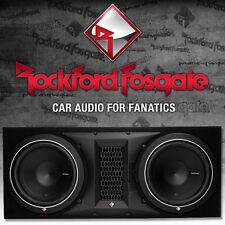 Rockford Fosgate Punch P2-2X10 Dual Gehäusesubwoofer 2x 25cm Bass Subwoofer