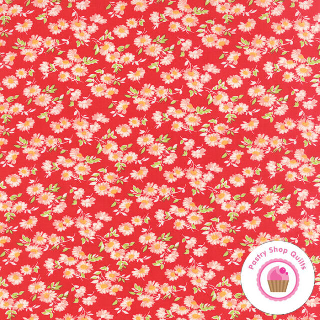 Quilt 10 fabrics in listing Little Ruby by Bonnie /& Camille for Moda Fabrics