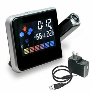 LED-Digital-Projection-Alarm-Clock-Weather-Thermometer-Snooze-Backlight