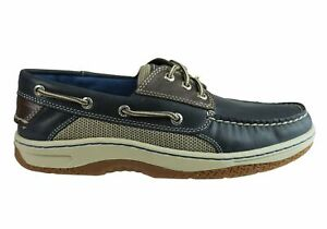 Mens-Sperry-Billfish-Comfortable-Wide-Width-Leather-Boat-Shoes-ModeShoesAU