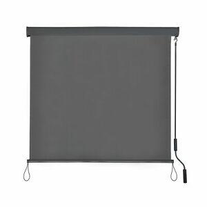 Senkrechtmarkise-Aussenrollo-Sichtschutz-Balkon-Balkonrollo-Sonnenschutz-B-Ware