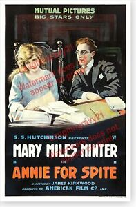 Silent-Movie-Actress-Mary-Miles-Minter-Annie-For-Spite-Movie-Poster