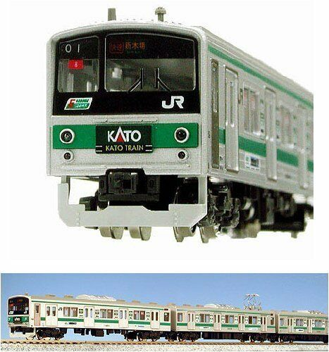 ti aspetto Nuovo Nuovo Nuovo N Gauge Vehicle Set Series 205 Saikyo Line Coloreeee  Kato Train  (10 autos) [Spe  omaggi allo stadio