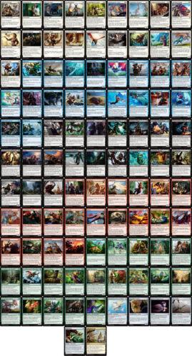 Magic the Gathering MtG Ixalan alle 101 Common Karten als Komplettset DE