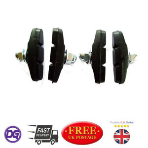 2-x-PAIRS-KIDS-BIKE-CHILDRENS-BIKE-ALL-WEATHER-BRAKE-SHOES-PADS-BLOCKS-40mm