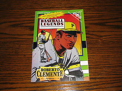 1992 WITH TRADNG CARDS RARE!!! ROBERTO CLEMENTE BASEBALL LEGENDS  COMIC BOOK