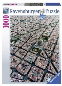 Ravensburger 1000 piece jigsaw puzzle BARCELONA FROM ABOVE