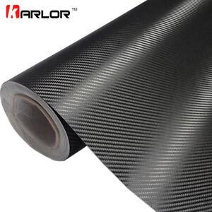 Vinilo-Hoja-Rollo-Pelicula-Pegatina-Fibra-de-Carbono-Coche-Moto-30-x-127cm-3D