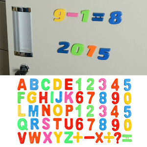 42pcs/Set Magnet fridge magnets alphabet letters & numbers ...