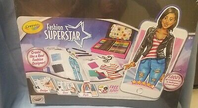 New Crayola Fashion Superstar Digital Clothes Designing Kit W Free App 71662102913 Ebay