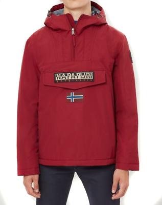 NAPAPIJRI Rainforest Inverno Mantella Giacca in Rosso Borgogna vendita RRP £ 165 | eBay