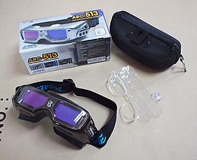 WORLD's FIRST SERVORE ARC-513 Auto Darkening Welding GOGGLE Glasses Shade #5-13