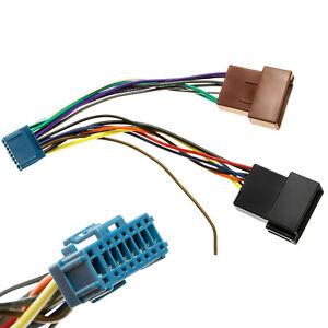 KFZ-Auto-Radio-Adapter-Kabel-Stecker-Kabelbaum-DIN-ISO-fuer-Pioneer-Radio-AVIC