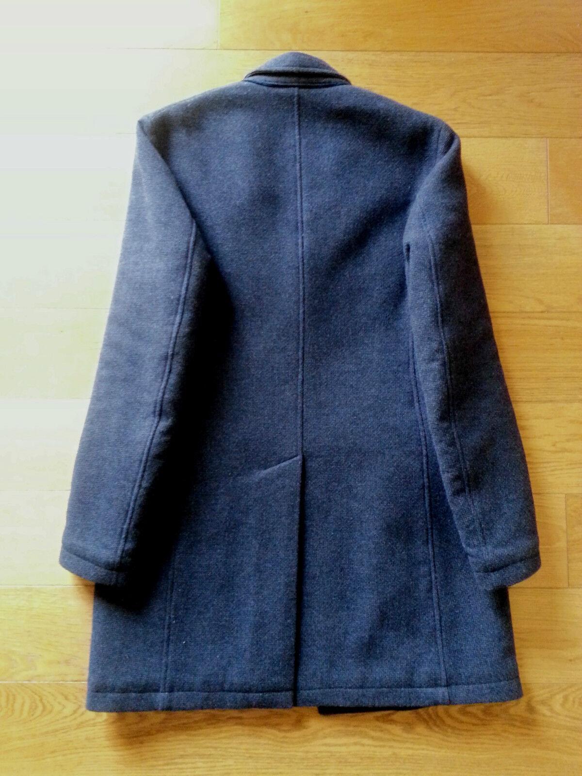 Aquarama cappotto lana uomo capospalla in giaccone 48 made in capospalla italy coat Uomo wool 7bb5c2