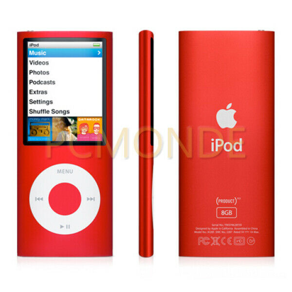 Pb751ll A Apple Ipod Nano 8gb Product Red Special Edition For Sale Online Ebay