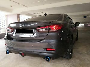 Image Is Loading Rear Trunk Lip Spoiler For Mazda 6 Atenza