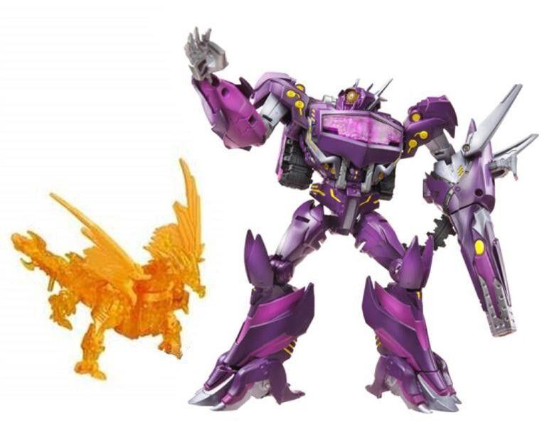 Transformers Prime Beast Hunters Asia Exclus Shockwave laboratorio Naranja Projoaking