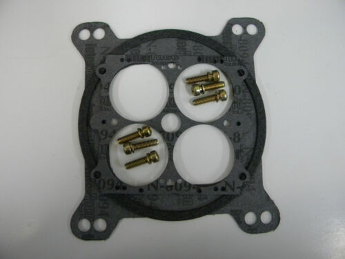 "Holley-QFT-AED Red Billet Base Plate Assembly 1 3//4/"" 850-1000 CFM Carb 12-850QFT"