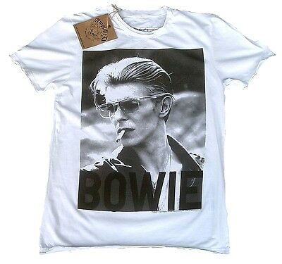 AMPLIFIED Official DAVID BOWIE Cool Rock Star Vintage ViP T-Shirt g.M/L 50/52