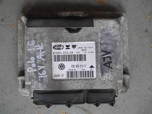 Moteur fiscal appareil moteur dispositif de commande GTI 1.6 16v vw polo 6n Lupo 036906014r