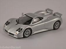 PAGANI ZONDA C12S in Silver 1/43 scale model