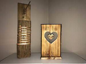 dekobrett holz schwartenbrett brett rinde dekost nder herz flambiert 36 cm deko ebay. Black Bedroom Furniture Sets. Home Design Ideas