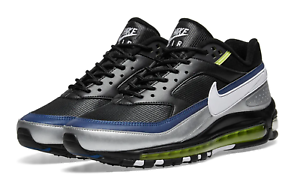 169e740a4a4 Image is loading NIKE-AIR-MAX-97-BW-034-BLACK-WHITE-