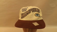 Vtg Green Bay Packers Snapback Hat/Cap Superbowl Champs XXXI NWT Drew Pearson