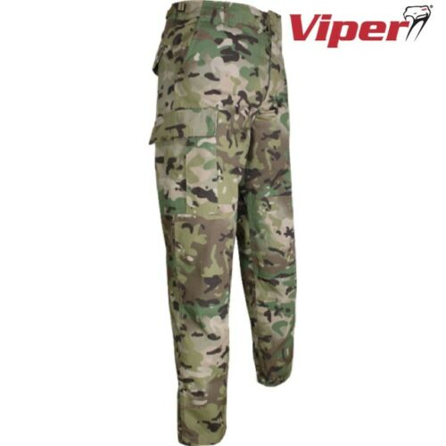 "VIPER TACTIQUE EDR Pantalon Combat Homme 28-42/"" Army Ripstop Pantalon Cargo airsoft"