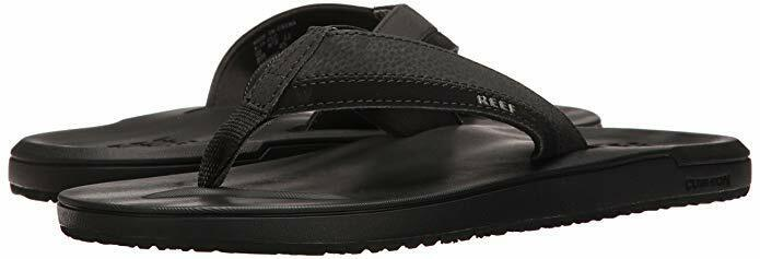 b9441ff2f3c95 Men's Contoured Cushion Flop Sandal RF0A2YFX Black 100% Authentic ...
