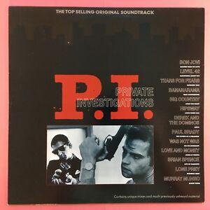 Private-Investigations-P-I-Original-Soundtrack-Mercury-MERH-107-Ex