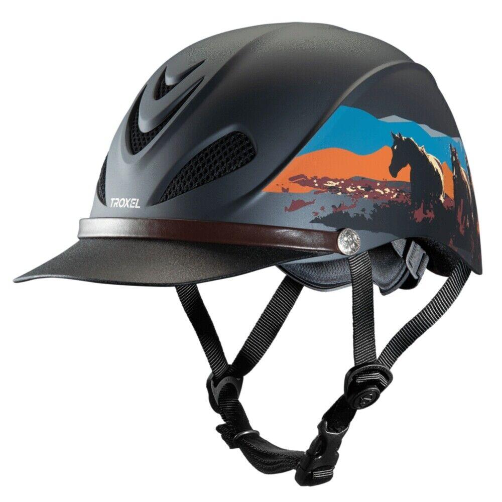 04-319 Troxel Dakota Riding Helmet Badlands Design NEW