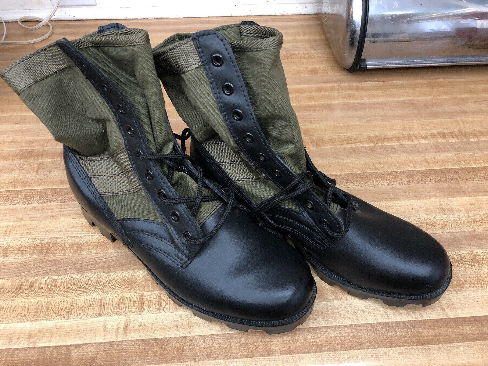 Rothco Jungle Stivali Olive Drab Pelle Military Rothco 5080 Panama Sole Size 12R