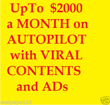 a Month on Autopilot With Viral Contents and Ads