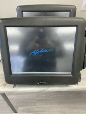 Radiant Systems Touchscreen Pos Terminal Model P1515 With Card Swipe