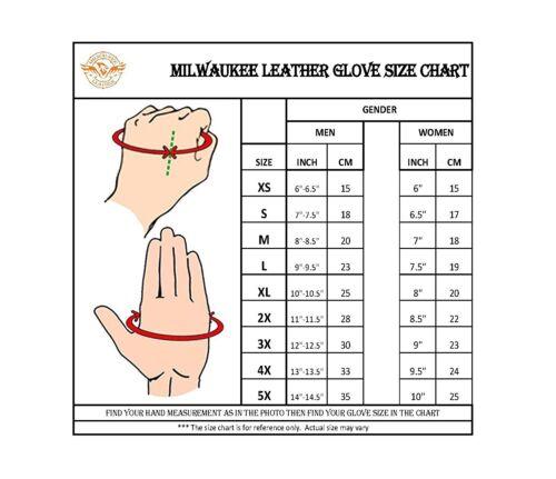 Men/'s Ultra Soft Deerskin Fingerless Glove w// Gel Palm /& Large Wrist Strap SH850