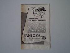 advertising Pubblicità 1949 CAPPELLI PANIZZA