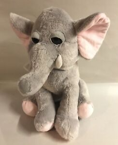 Gray Elephant Plush Kelly Toy Stuffed Animal Grey 13 Floppy Ears
