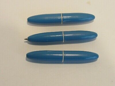 "Fat body-YELLOW TERZETTI Super Mini Ballpoint Acrylic Pen 3/"" long"
