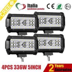 4X336W-LED-LUCE-FARO-12V-24V-LAMPADA-DA-LAVORO-FARETTO-AUTO-BARCA-CAMION-KLW-SUV