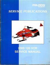 2000  POLARIS 120 XCR SNOWMOBILE  SERVICE MANUAL P/N 9915983  (691)