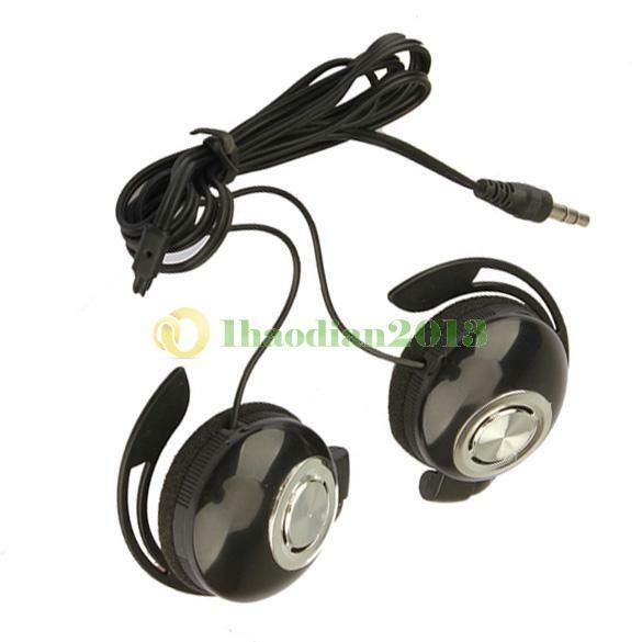 Sport Earphone Clip On Sports Stereo Ear-Cup  Headphones Earphone For MP3/Phone