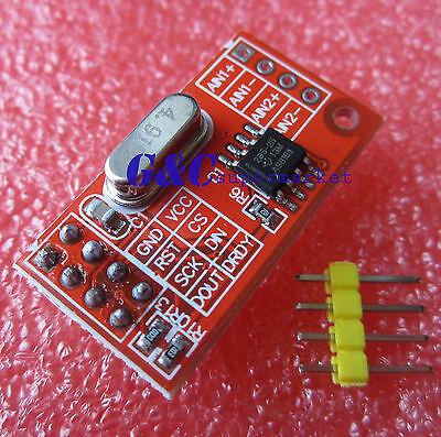 AD7705 Dual 16-bit ADC Data Acquisition Module SPI Precise TM7705 M93