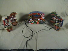 Mr Christmas Disney Holiday Carousel Musical, Lighted Ornaments Orig. Box