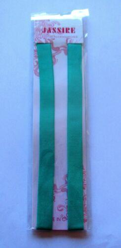 Adjustable Detachable Metal Hook Pair *FREE POSTAGE UK* Turquoise  Bra Straps