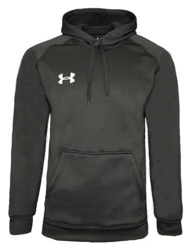 Under Armour Hoodie Kids 13 14 Years BLACK UA Boys Fleece hooded Top