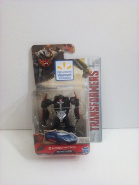 "Transformers Autobot Hot Rod Car Action Mini Figure Toy 3"" Hasbro legion class"