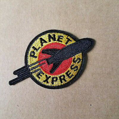 Futurama Planet Express Small Logo Embroidered Patch 3